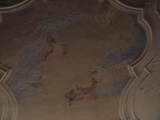 ceiling of Mozart House