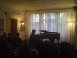 performance at Mozart House in Rovereto