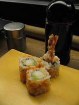 Meiji california roll tempura