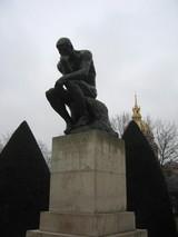 Rodin museum Le Penseur