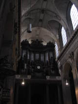 pipe organ at St-Sulpice church